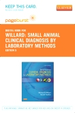 cover image - Small Animal Clinical Diagnosis by Laboratory Methods - Elsevier eBook on VitalSource (Retail Access Card),5th Edition