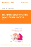 cover image - Ethics and Law in Dental Hygiene - Elsevier eBook on VitalSource (Retail Access Card),3rd Edition