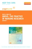 The Practice of Nursing Research - Elsevier eBook on VitalSource (Retail Access Card), 7th Edition