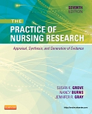 cover image - Evolve Resources for The Practice of Nursing Research,7th Edition