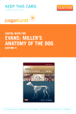 Miller's Anatomy of the Dog - Elsevier eBook on VitalSource (Retail Access Card), 4th Edition