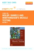 cover image - Daniels and Worthingham's Muscle Testing - Elsevier eBook on VitalSource (Retail Access Card),9th Edition