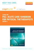 cover image - Acute Care Handbook for Physical TheTherapists - Elsevier eBook on VitalSource (Retail Access Card),4th Edition