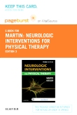 cover image - Neurologic Interventions for Physical Therapy - Elsevier eBook on VitalSource (Retail Access Card),3rd Edition