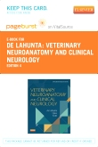 Veterinary Neuroanatomy and Clinical Neurology - Elsevier eBook on VitalSource (Retail Access Card), 4th Edition