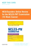 HESI/Saunders Online Review for the NCLEX-PN Examination (1 Year) (Access Card)