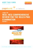 cover image - HESI Comprehensive Review for the NCLEX-PN® Examination - Elsevier eBook on VitalSource + Evolve Access (Retail Access Cards),3rd Edition