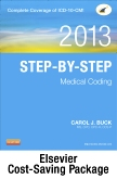 cover image - Medical Coding Online for Step-by-Step Medical Coding 2013 Edition (User Guide, Access Code & Textbook Package)