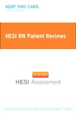 cover image - HESI RN Patient Reviews