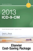 2013 ICD-9-CM for Physicians, Volumes 1 & 2 Standard Edition with CPT 2013 Standard Edition Package