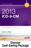 cover image - 2013 ICD-9-CM for Hospitals, Volumes 1, 2, and 3 Professional Edition (Spiral bound), 2013 HCPCS Level II Professional Edition and 2013 CPT Professional Edition Package