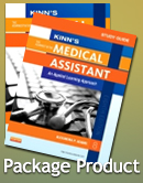 Kinn's The Administrative Medical Assistant - Text and Study Guide Package, 8th Edition