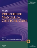 cover image - AACN Procedure Manual for Critical Care - Elsevier eBook on Intel Education Study,6th Edition