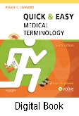 Quick & Easy Medical Terminology - Elsevier eBook on Intel Education Study, 6th Edition
