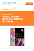 cover image - Netter's  Essential Histology - Elsevier eBook on VitalSource (Retail Access Card)