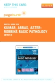 cover image - Robbins Basic Pathology - Elsevier eBook on VitalSource (Retail Access Card),9th Edition