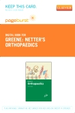 Netter's Orthopaedics - Elsevier eBook on VitalSource (Retail Access Card)