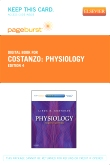 Physiology - Elsevier eBook on VitalSource (Retail Access Card), 4th Edition