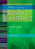 cover image - Phillips' Science of Dental Materials - Elsevier eBook on VitalSource,11th Edition