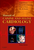 cover image - Manual of Canine and Feline Cardiology - Elsevier eBook on VitalSource,4th Edition