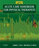 cover image - Acute Care Handbook for Physical Therapists - Elsevier eBook on VitalSource,3rd Edition