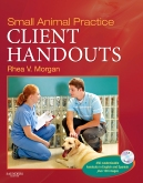 cover image - Small Animal Practice Client Handouts - Elsevier eBook on VitalSource