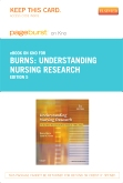 cover image - Understanding Nursing Research - Elsevier eBook on Intel Education Study (Retail Access Card),5th Edition