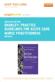 cover image - Practice Guidelines for Acute Care Nurse Practitioners - Elsevier eBook on Intel Education Study (Retail Access Card),2nd Edition