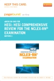 cover image - HESI Comprehensive Review for the NCLEX-RN Examination - Elsevier eBook on Intel Education Study (Retail Access Card),3rd Edition
