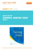 cover image - Nursing Today - Elsevier eBook on Intel Education Study (Retail Access Card),7th Edition