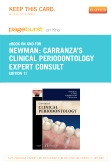 Carranza's Clinical Periodontology Expert Consult Pageburst E-Book on Kno (Retail Access Card), 11th Edition