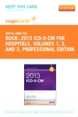 cover image - 2013 ICD-9-CM for Hospitals, Volumes 1, 2 and 3 Professional Edition - Elsevier eBook on VitalSource (Retail Access Card)