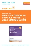 2013 ICD-9-CM for Hospitals, Volumes 1, 2 and 3 Standard Edition - Elsevier eBook on VitalSource (Retail Access Card)
