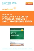 cover image - 2013 ICD-9-CM for Physicians, Volumes 1 and 2 Professional Edition - Elsevier eBook on VitalSource (Retail Access Card)
