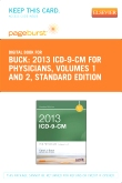 2013 ICD-9-CM for Physicians, Volumes 1 and 2, Standard Edition - Elsevier eBook on VitalSource (Retail Access Card)