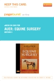 Equine Surgery - Elsevier eBook on Intel Education Study (Retail Access Card), 4th Edition