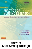 cover image - Study Guide for The Practice of Nursing Research - Elsevier eBook on VitalSource (Retail Access Card),7th Edition