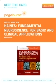 cover image - Fundamental Neuroscience for Basic and Clinical Applications - Elsevier eBook on VitalSource (Retail Access Card),4th Edition