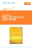 cover image - 2013 ICD-10-CM Draft Edition - Elsevier eBook on VitalSource (Retail Access Card)