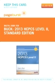 cover image - 2013 HCPCS Level II Standard Edition - Elsevier eBook on VitalSource (Retail Access Card)