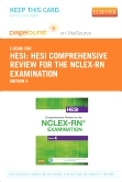 HESI Comprehensive Review for the NCLEX-RN Examination - Elsevier eBook on VitalSource (Retail Access Card), 4th Edition