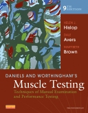 Daniels & Worthingham's Muscle Testing - Elsevier eBook on Intel Education Study, 9th Edition