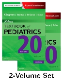 cover image - Nelson Textbook of Pediatrics, 2-Volume Set,20th Edition