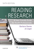 cover image - Reading Research - Elsevier eBook on VitalSource,6th Edition