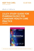 cover image - Study Guide for Pharmacology for Canadian Health Care Practice - Elsevier eBook on VitalSource (Retail Access Card),3rd Edition