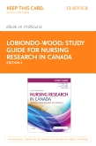 cover image - Study Guide for Nursing Research in Canada - Elsevier eBook on VitalSource (Retail Access Card),4th Edition