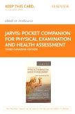 cover image - Pocket Companion for Physical Examination and Health Assessment - Elsevier eBook on VitalSource (Retail Access Card),3rd Edition