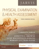 cover image - Physical Examination and Health Assessment - Canada Elsevier eBook on VitalSource,3rd Edition