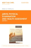 cover image - Physical Examination and Health Assessment - Elsevier eBook on VitalSource (Retail Access Card),3rd Edition