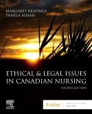 cover image - Evolve Resources for Ethical & Legal Issues in Canadian Nursing,4th Edition